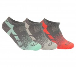 Womens 3 pk Non Terry Low Cut