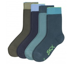 BOYS BASIC SOCKS 4 PAIR