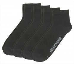 MEN QUARTER SOCKS BASIC 4 PAIR